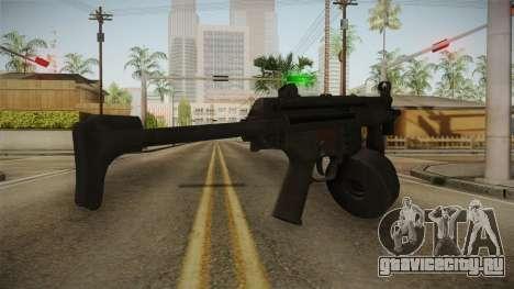 MP-5K Drum Mags для GTA San Andreas второй скриншот