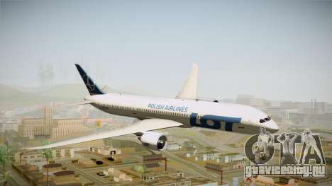 Boeing 787 LOT Polish Airlines для GTA San Andreas