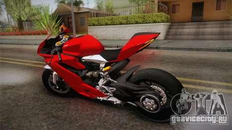 Ducati 1299 Panigale S 2016 для GTA San Andreas вид слева
