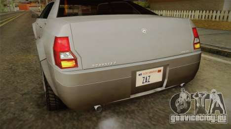 GTA 4 Schyster PMP600 SA Style для GTA San Andreas вид сбоку