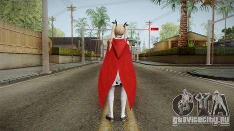 DoA 5: LR - Marie Halloween 2016 для GTA San Andreas третий скриншот