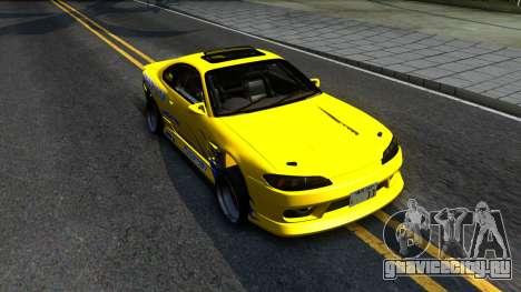 Nissan Silvia S15 Huxley Motorsport для GTA San Andreas вид справа