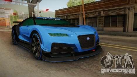 GTA 5 Truffade Nero Custom для GTA San Andreas