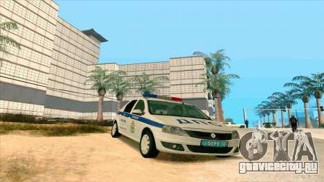 Renault Logan ГИБДД для GTA San Andreas