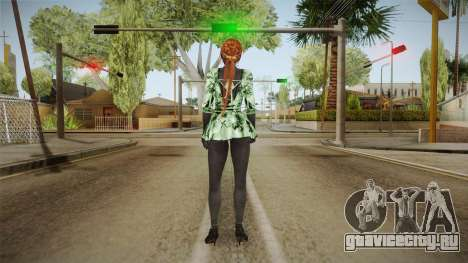 Kasumi DoA Black Skin для GTA San Andreas