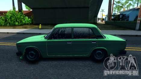 ВАЗ 2105 Winter Drift для GTA San Andreas вид слева