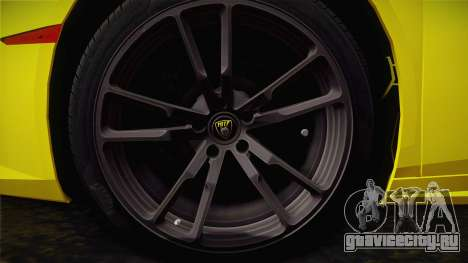 Lamborghini Huracan FBI 2014 для GTA San Andreas вид сзади слева