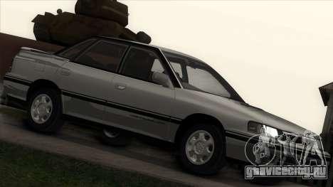 Subaru Legacy RS для GTA San Andreas вид слева