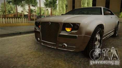 GTA 4 Schyster PMP600 SA Style для GTA San Andreas вид снизу