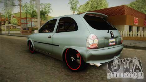 Chevrolet Corsa Speed 2006 v2 для GTA San Andreas вид справа