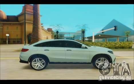 Mercedes-Benz GL63 для GTA San Andreas вид слева