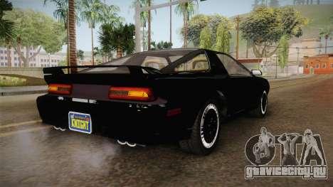 GTA 5 Imponte Ruiner 2000 IVF для GTA San Andreas вид сзади слева