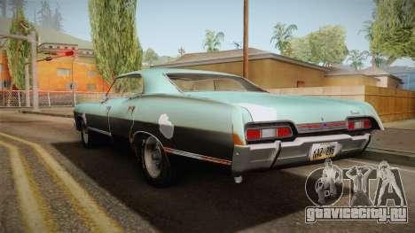 Chevrolet Impala 1967 для GTA San Andreas вид слева