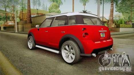 GTA 5 Weeny Issi Countryboy для GTA San Andreas вид слева