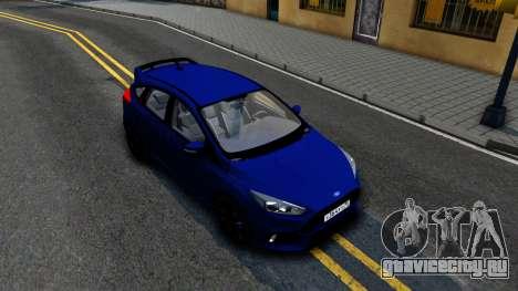 Ford Focus 2017 для GTA San Andreas вид справа