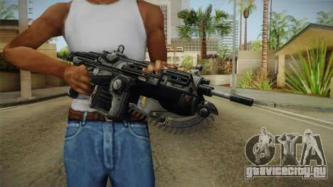 Gears Of War II - Mark 2 Lancer Assault Rifle для GTA San Andreas