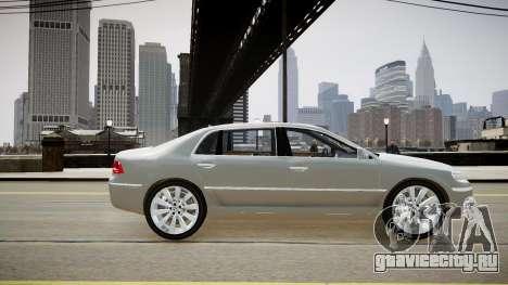 Volkswagen Phaeton 2011 для GTA 4 вид слева
