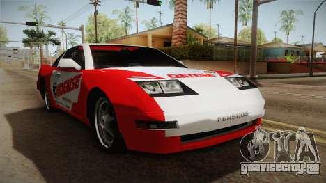 ETR1 EuR0S Red для GTA San Andreas вид справа