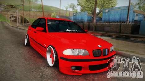 BMW 3 Series E46 Sedan для GTA San Andreas