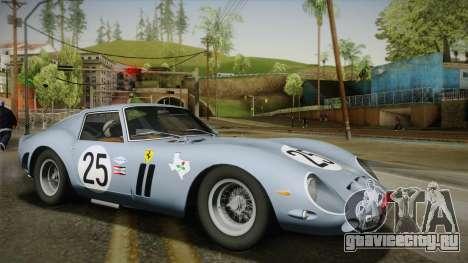 Ferrari 250 GTO (Series I) 1962 HQLM PJ2 для GTA San Andreas вид справа