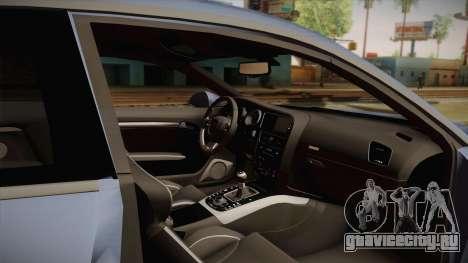 Audi S5 2017 для GTA San Andreas вид изнутри