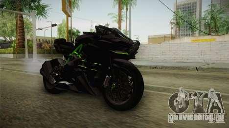 Kawasaki H2 2015 x Z1000 x Diavel для GTA San Andreas вид справа