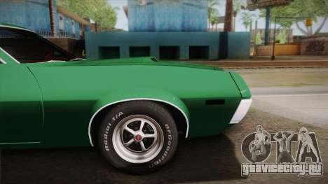 Ford Gran Torino 1972 для GTA San Andreas вид сзади слева