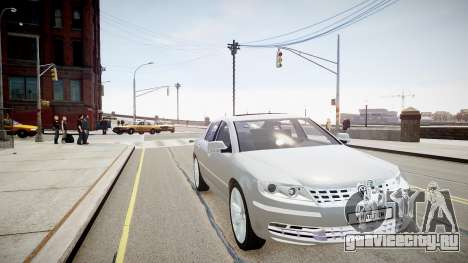 Volkswagen Phaeton 2011 для GTA 4 вид справа