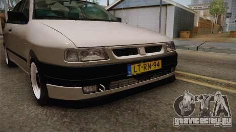 Seat Ibiza 1995 SWAP 1.6 для GTA San Andreas вид сбоку