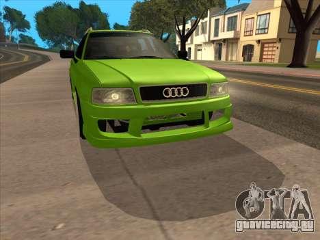 Audi 80 NFS для GTA San Andreas вид сзади слева