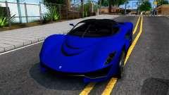 Grotti Turismo RXX K From GTA 5 для GTA San Andreas