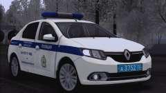 Renault Logan 2016 для ГУ МВД