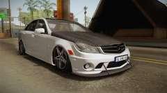 Mercedes-Benz C63 AMG 2012 для GTA San Andreas