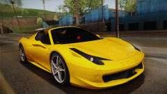 Ferrari 458 Spider FBI
