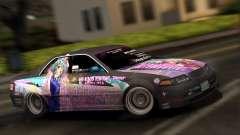 Toyota Mark 2 ITASHA PROJECT IDOLMASTER MATSURI для GTA San Andreas