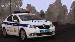 Renault Logan ОБ ДПС ГИБДД