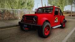 GTA 5 Canis Mesa Jurassic Park для GTA San Andreas