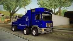 MAN F2000 Tow Truck PDRM для GTA San Andreas