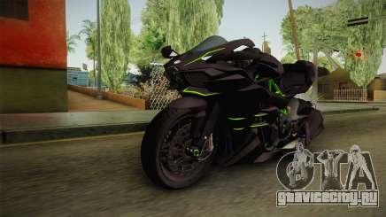 Kawasaki H2 2015 x Z1000 x Diavel для GTA San Andreas
