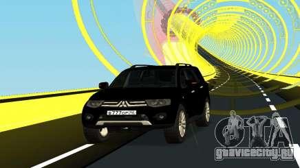 Mitsubishi Pajero чёрный для GTA San Andreas