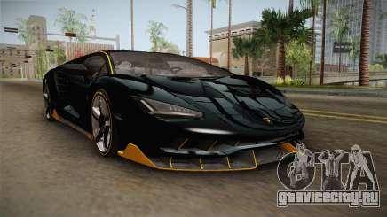 Lamborghini Centenario LP770-4 2017 Carbon PJ для GTA San Andreas