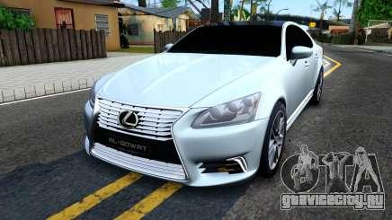 Lexus LS XF40 для GTA San Andreas