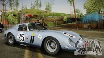 Ferrari 250 GTO (Series I) 1962 IVF PJ2 для GTA San Andreas