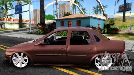 Chevrolet Corsa Sedan для GTA San Andreas вид слева