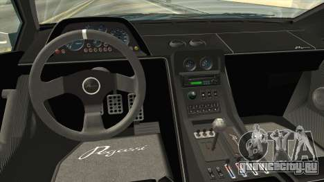 GTA 5 Infernus Classic для GTA San Andreas вид изнутри