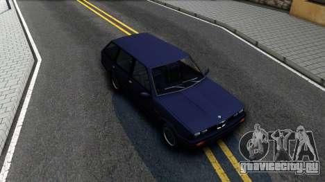 BMW 3-er E30 Touring SA Style для GTA San Andreas вид справа