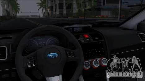 Subaru WRX STi 2017 для GTA San Andreas