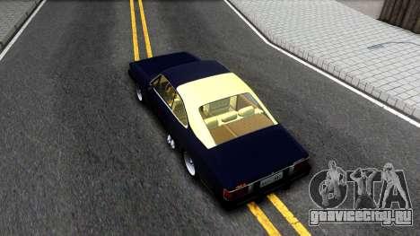 Chevrolet Opala 87 Diplomat Coupe для GTA San Andreas вид сзади