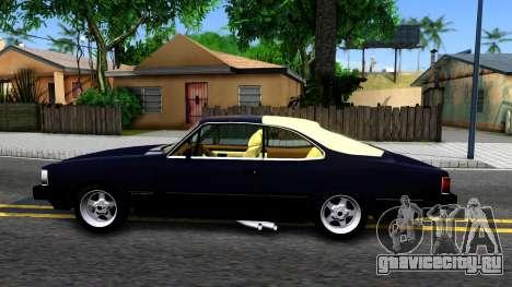 Chevrolet Opala 87 Diplomat Coupe для GTA San Andreas вид слева