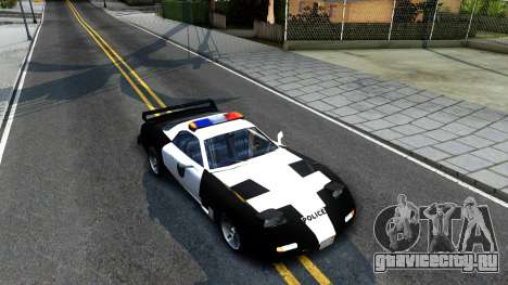 ZR-350 SFPD Police Pursuit Car для GTA San Andreas